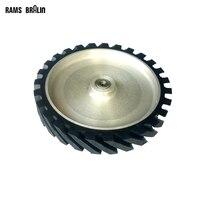 300 50 25mm Diagonal Rubber Wheel Belt Sander Polisher Wheel Sanding Belt Set