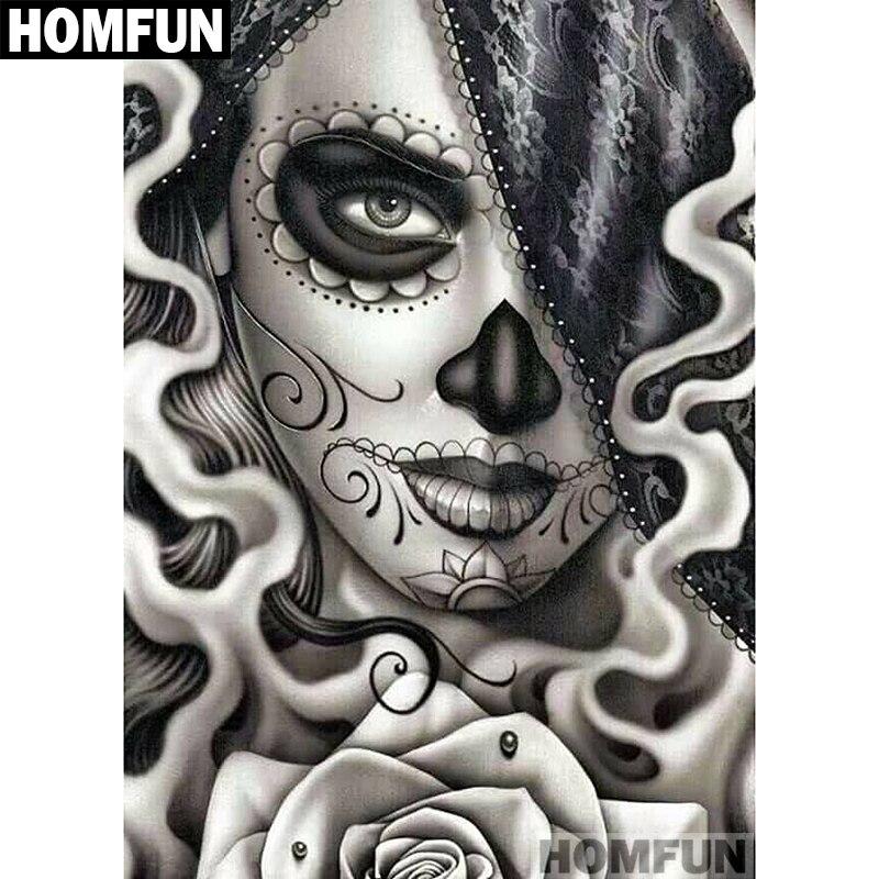 A01458             Skull girl