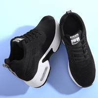 Women Vulcanized Shoes Casual Wedge Platform Elastic Band Spring Summer Increasing Shoes Ladies Sneakers Female Zapatillas Mujer