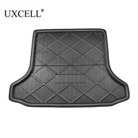 UXCELL PE+EVA foam plastic Black Anti dirty Rear Trunk Boot Liner Cargo Mat Floor Tray Cover Pad for Honda Civic 2006 TO 2011
