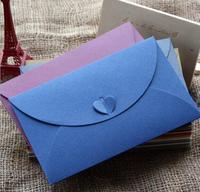 50pcs/lot Paper Envelope Colored Vintage European Style Envelopes Wedding Invitation Envelope Christmas Gift Packing