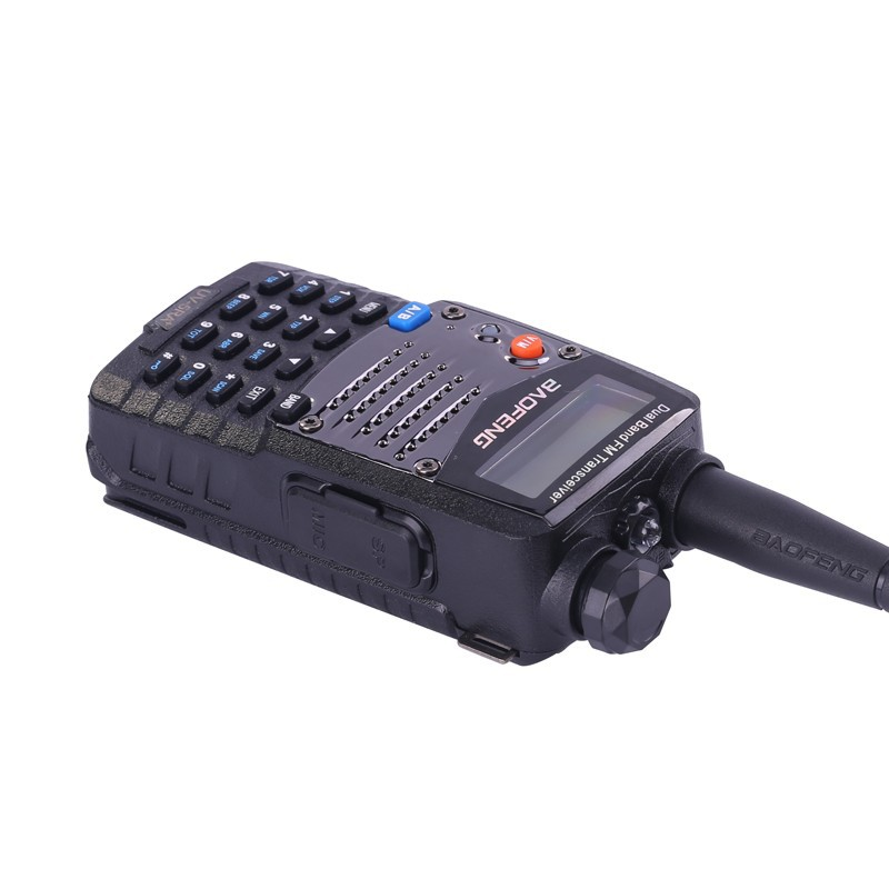 Image 4 - (4 PCS)Baofeng UV5RA Ham Two Way Radio Walkie Talkie Dual Band Transceiver (Black)-in Walkie Talkie from Cellphones & Telecommunications