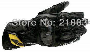 New cool RS Taichi racing motorcycle leather gloves carbon sport of motorcycle racing gloves