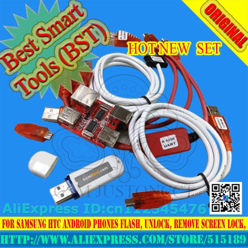 gsmjustoncct BSTdongle for HTC SAMSUNG unlock screen S3 S5 9500 lock repair IMEI read NVM EFS