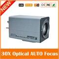 30 Óptico de Enfoque Automático CCD 720TVL HD CCTV de Doble Filtro caja de La Cámara Día y Noche A Prueba de agua de Metal Cuerpo de Vigilancia Doméstica cámara