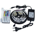 5M Led Strip 5050 RGB 300Leds Flexible LED Tape IP44 Non-waterproof + RGB IR Remote Controller +12V 3A 36W Power Adapter