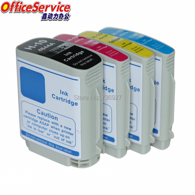 Cartouche d'encre Compatible pour HP10 HP11 HP 10 11, pour imprimante Officejet Pro K850 9100 9120 9110 Designjet 100 plus/110 C4836A