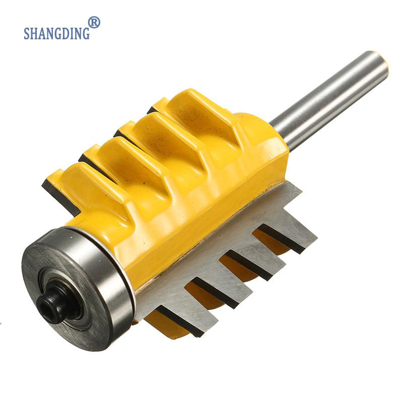 1/4'' Shank Alloy Mortise TemplateJoint And Rail Stile FingerGlueWood Router Bit1/4 Inch ShankWoodworking Machinery Tool