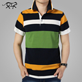Striped Polo Shirt Fashion Men 2017 Summer Short Sleeve Classic Polo Turn-down Collar Mens Polos Men's Casual Brand POLO M-4XL
