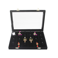 24 Slots 35 24 4 Cm Necklace Pendant Jewelry Box Jewelry Box 6 Kinds Of Color