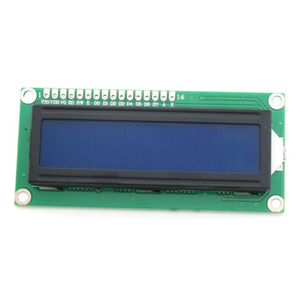 Raspberry Pi special yellow and green screen <font><b>LCD1602</b></font> LCD <font><b>module</b></font> with backlight 5v image