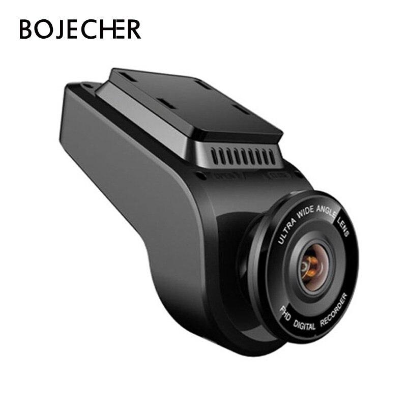 BOJECHER 4K Full HD Car camera DVR Car Dash cam with 170 Degree Rear Camera Night
