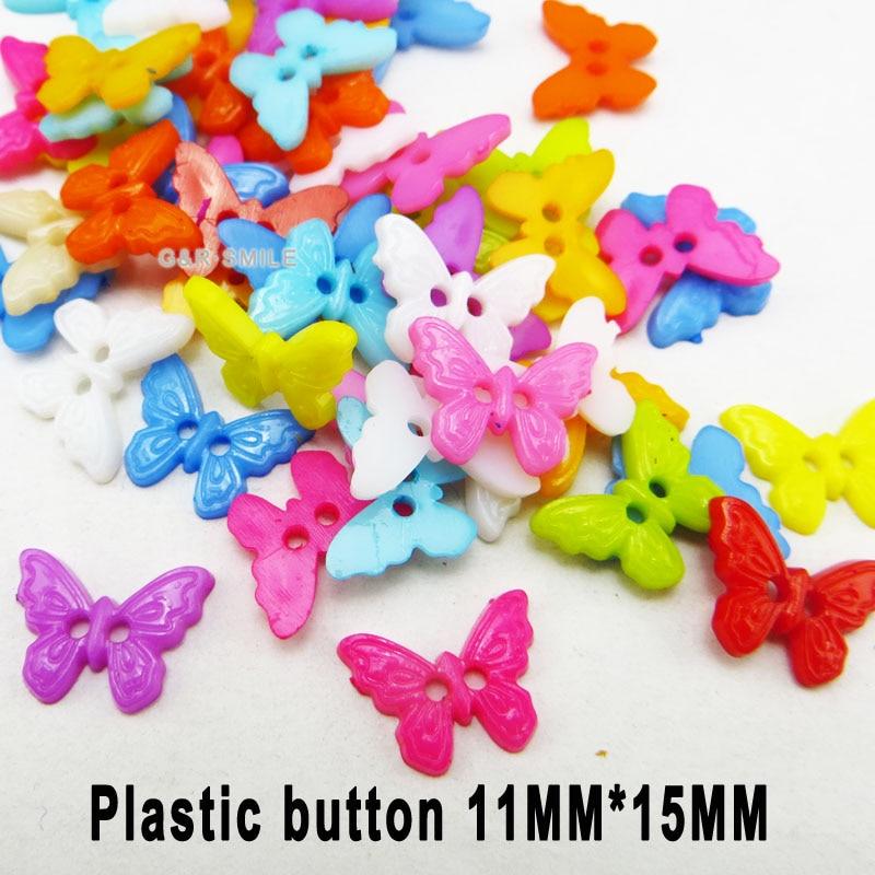 АКЦИЯ 100 шт смешанные формы много цветов Сделай Сам Скрапбукинг Мультяшные кнопки пластиковые кнопки детская одежда швейные принадлежности P-001 - Цвет: 27