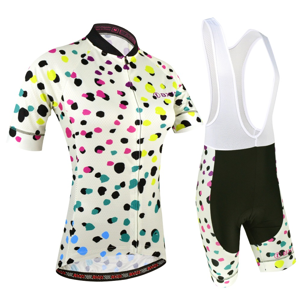 Summer Cycling Jersey Set Pro Team Cycling Clothing For Women Maillot Ciclismo Short Sleeve Bicycle Clothes BXIO Bike Jersey 191