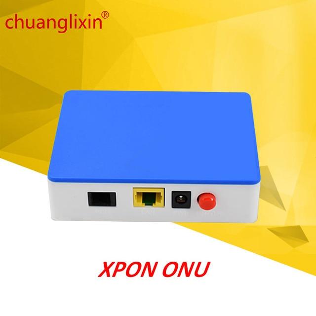 Chuanglixin 1GE GEPON 1 port XPON ONU EPON/GPON ONU 1.25G gepon onu ftth fiber maison pour GEPON OLT