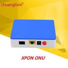 Chuanglixin 1GE GEPON 1 porta XPON ONU EPON/GPON ONU 1.25G gepon onu ftth fibra a casa Per GEPON OLT