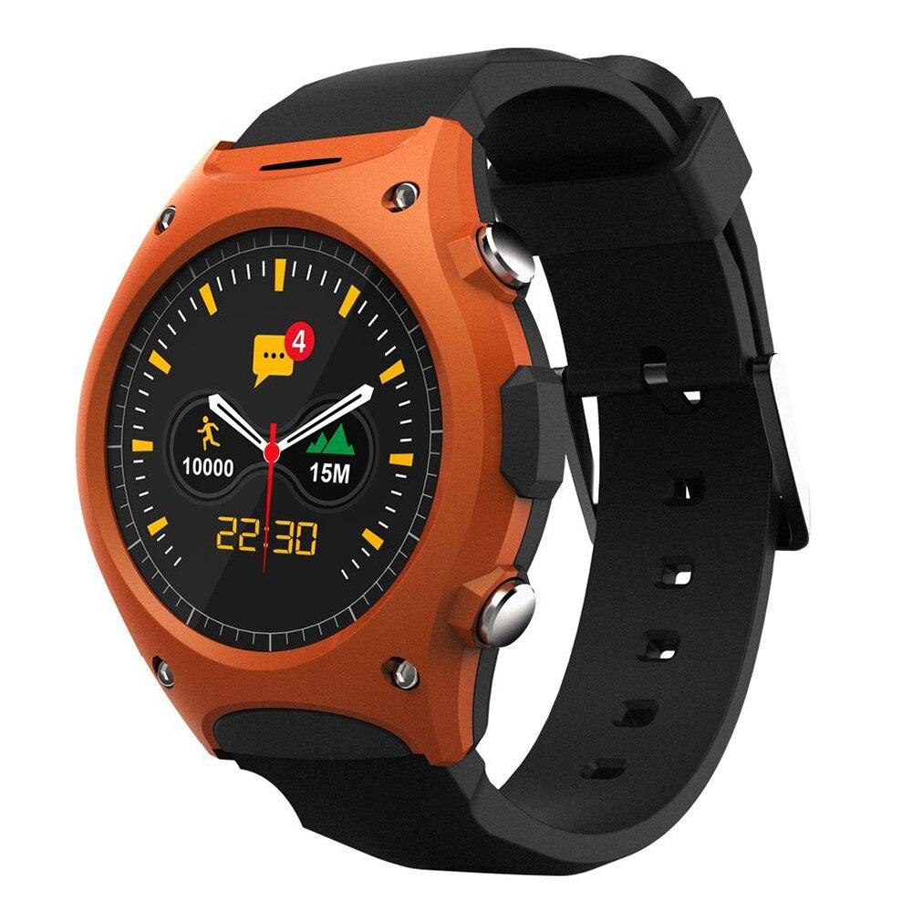 Original Q8 montre intelligente étanche IP54 Sport montre-bracelet MT2502 Bluetooth g-sensor fréquence cardiaque boussole montre pour IOS Android