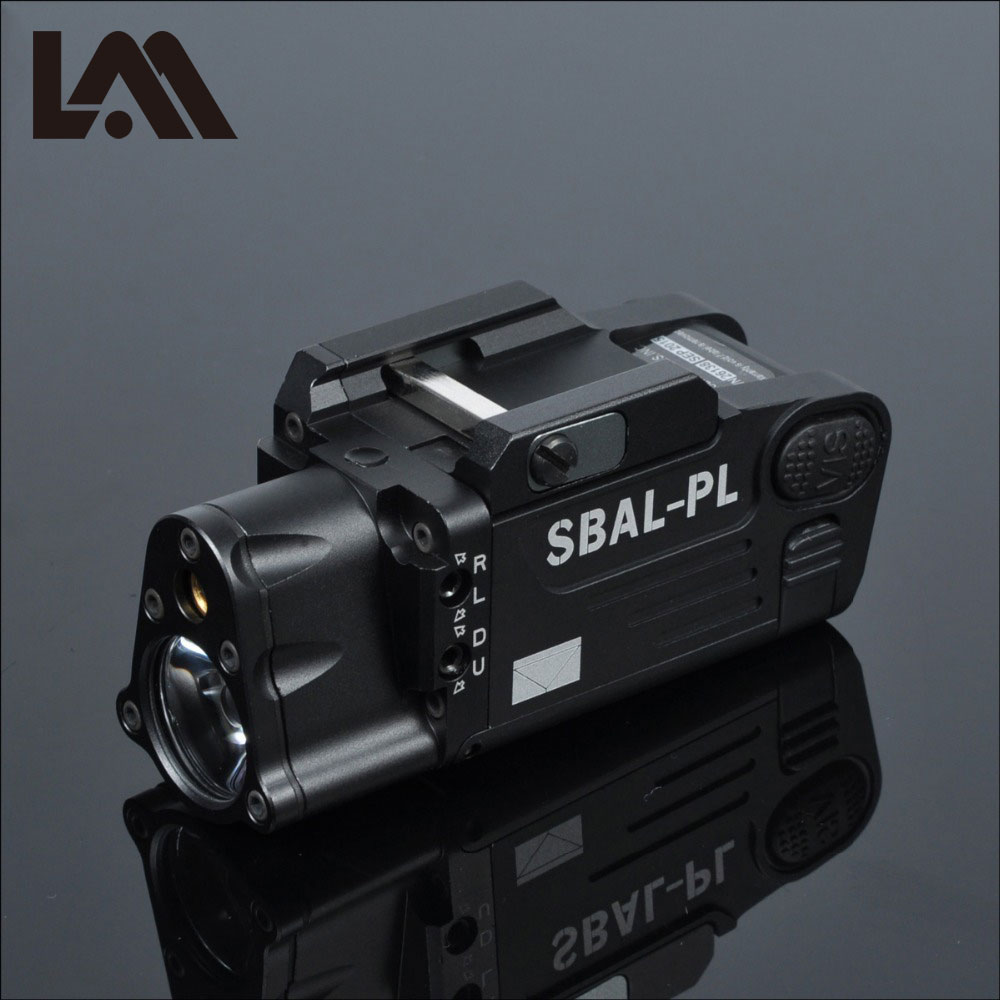 Tactical CNC Finished SBAL-PL Weapon light Flashlight Combo Red Laser Pistol Rifle Constant & Strobe Gun Light Picatinny RailTactical CNC Finished SBAL-PL Weapon light Flashlight Combo Red Laser Pistol Rifle Constant & Strobe Gun Light Picatinny Rail