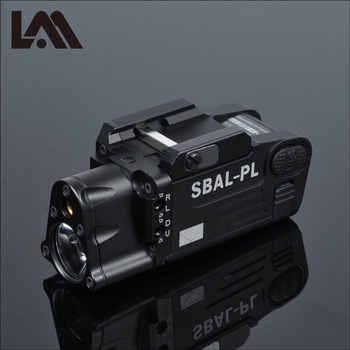 Tactical CNC Finito SBAL-PL Arma luce della Torcia Elettrica Combo Laser Rosso Pistola del Fucile Costante & Strobe light Gun CZ 75