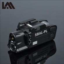 Tactische Cnc Afgewerkt SBAL PL Wapen Licht Zaklamp Combo Rode Laser Pistool Geweer Constante & Strobe Gun Light Cz 75