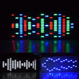 Image 3 - Bricolage grande taille contrôle tactile 225 Segment LED égaliseur numérique spectre de musique Kit dondes sonores