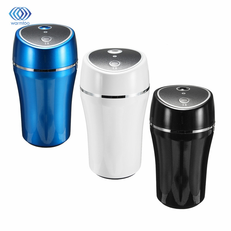 180 ml Mini Portable USB Car Air Humidifier Ultrasonic Essential Oil Aroma Diffuser Home Office Mist Maker Fogger
