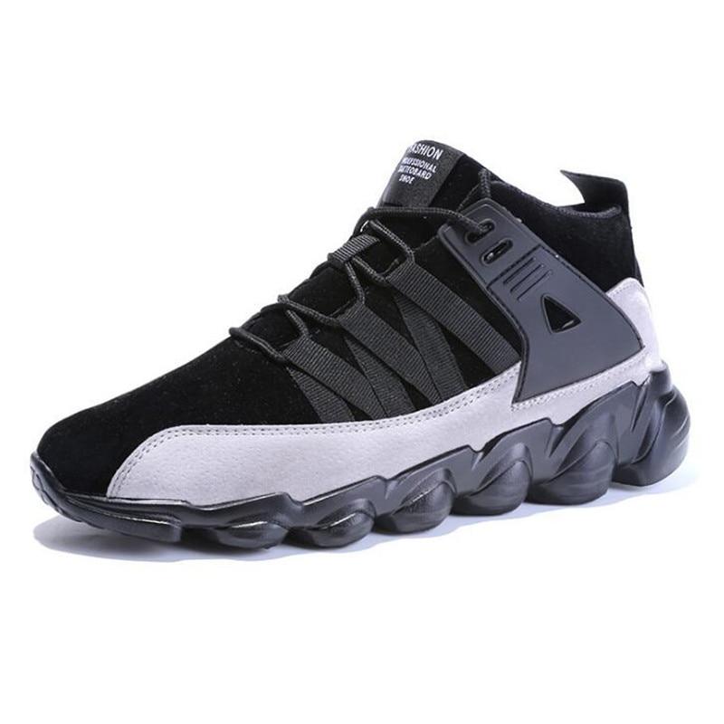 2019 Brown Zapatos no Pisos Casual no no Hombres Hombre 2 Aire Libre 1 2 Gray Transpirable 45 46 Brown No 1 no Black Moda 47 1 Al Black 2 Cómodos Zapatillas no Gray Trq1T