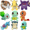 15-25cm Pikachu Squirtle Eevee Bulbasaur Snorlax Dragonite Lapras Plush Dolls Stuffed Animals Spirit Dolls Pocket Monster Gifts