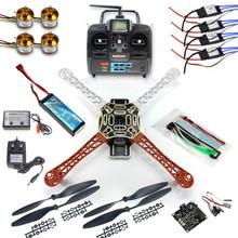 4 oś RC Multi QuadCopter Drone RTF ARF KK V2.3 Circuit board Silnik 1000KV 30A ESC Lipo Zestaw Ramka 6ch TX Rx F02192-A F450