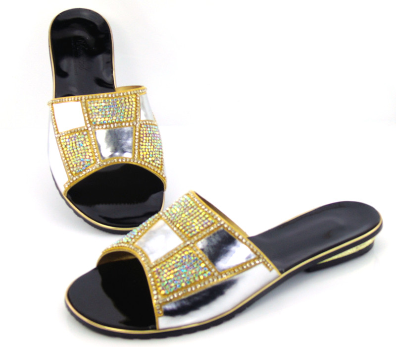 doershow most popular African sandals for party top quality fashionable ladies shoes factory price low heels