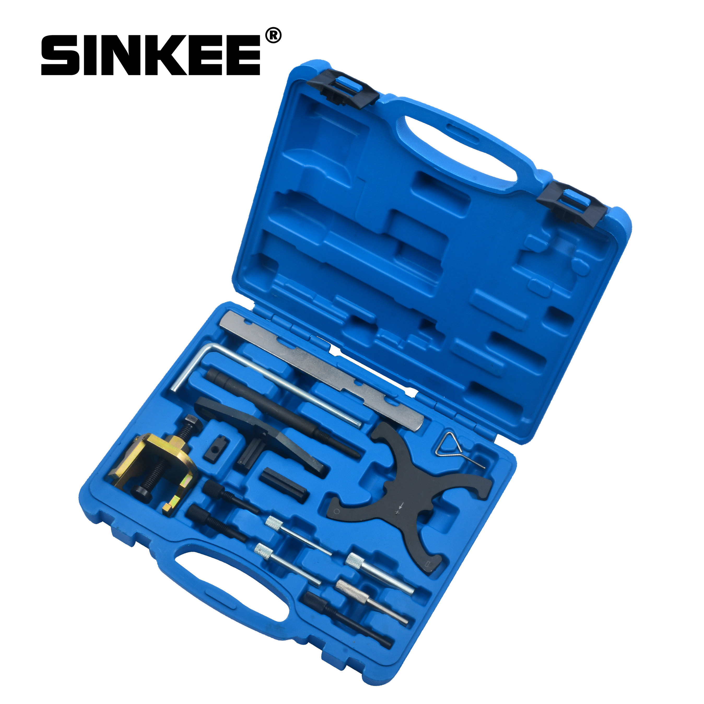 Engine Timing Tool Kit Camshaft & Flywheel Locking Tools For Ford Mazda