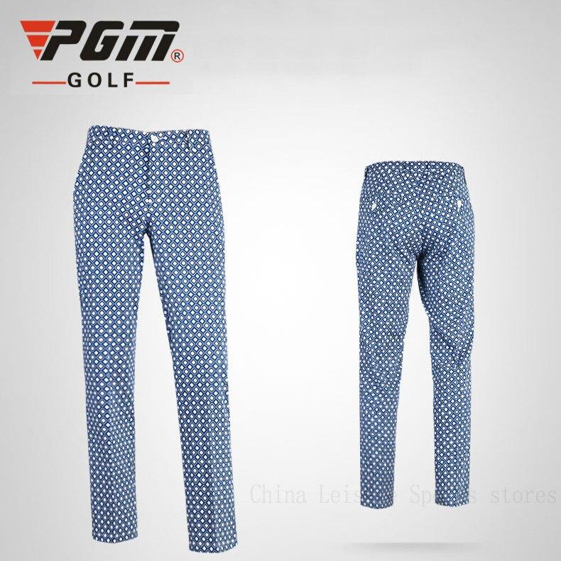 ФОТО PGM Brand Golf Pants Mens Plaid Long Trousers New Clothes 2015  Golf Clothing Male Pantalon Polyester Spandex Golf Pants Apparel