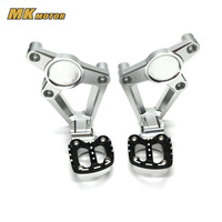 X ADV Motorcycle accessories For HONDA XADV X ADV 2017 Folding Rear Foot Pegs Footrest Passenger