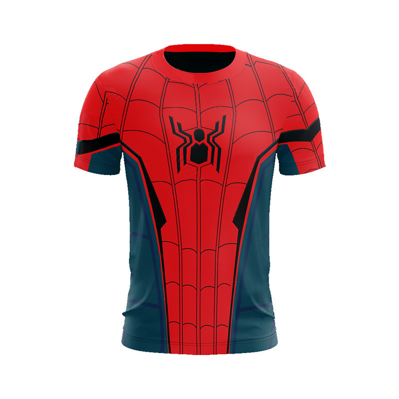 Spider Far From Home Coming Spider Cosplay Costume 3D T-shirt Hoodies Pants Men Boys Halloween Costumes Sportswear