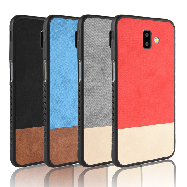 info for 32655 dfb24 US $3.03 11% OFF|For Samsung Galaxy J6 Plus case cover J6 Plus 2018 J610F  J610 Fabric Cover Case Silicone edge full Cover Back frosted Case-in Fitted  ...