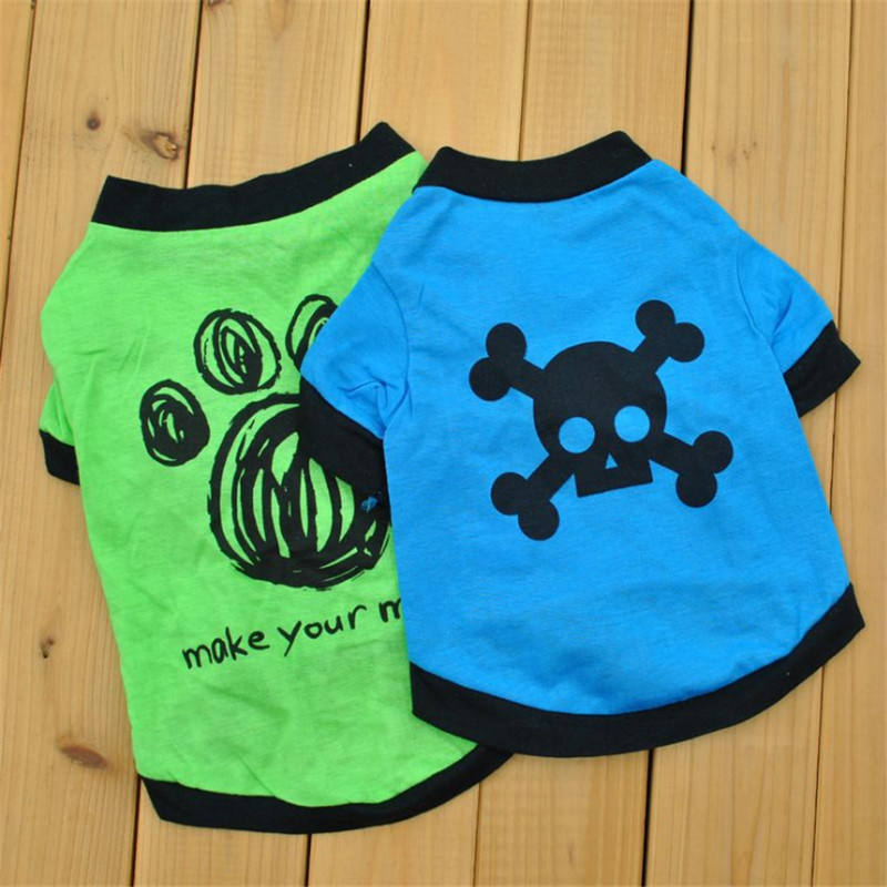 Pet Dog Clothes Funny Pet Shirt For Dogs Clothing Pet Dog Hoodie Small Medium Dogs Clothes Ropa Perro French Bulldog Chihuahua