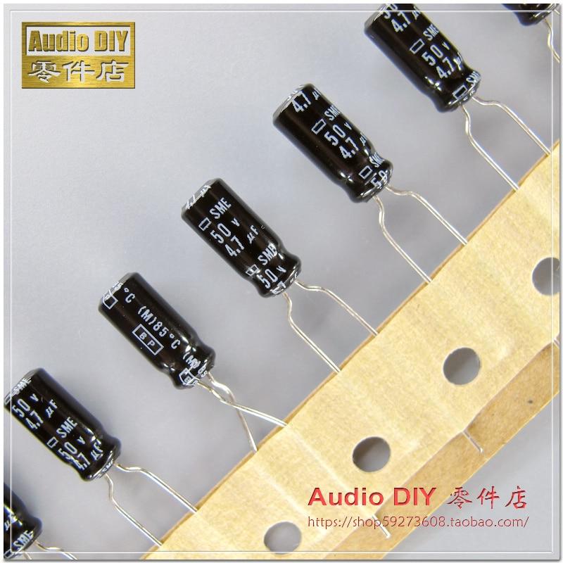 20 x 3.3uF 50V 105C Radial Electrolytic Capacitor 5x11