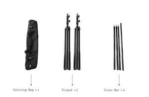 Image 3 - DHL 10Ft X 10Ft FREE BACKGROUND HOLDER 3M X 3M Adjustable Muslin Background Backdrop Support System Stand Kit Carrying Bag