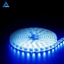 hot deal buy 220v smd 5050 led strip light 220 v power plug white warm white 60leds/m 300led waterproof ip67 led strips