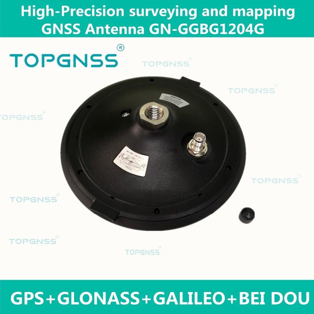 NEW High gain Pleine fréquence GNSS GPS GLONASS GALILEO BDS Cors Rtk GNSS antenne GNSS Enquête 3.3-12 V Haute précision,