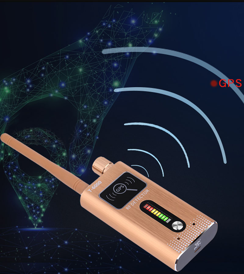 High Sensitivity Portable Wireless Signal Detector for 1.2G 2.4G 5.8Ghz