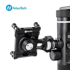 Image 1 - Feiyu Phone Holder Mount Adapter for SPG2 G6 G6 Plus Bracket Clip Clamp Holder for Action Camera Gimbal iPhone X 8 7 Samsung