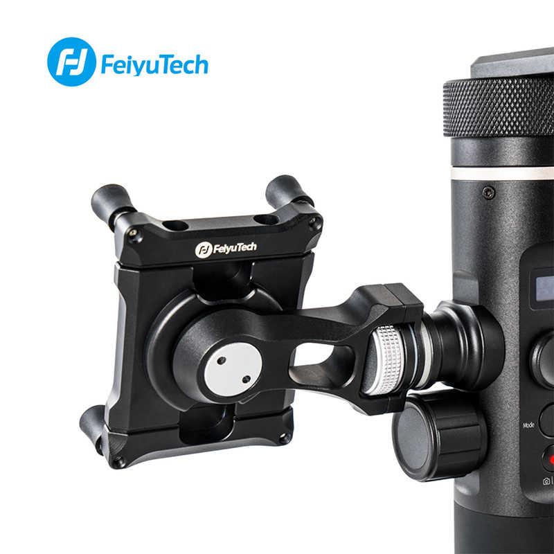 Feiyu Телефон держатель адаптера для SPG2 G6 G6 плюс кронштейн зажим держатель для экшн Камера Gimbal iPhone X, 8, 7, samsung