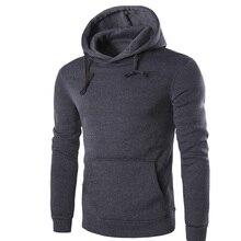 New Top Full Standard Belt Regular O-neck Brand Hoodies Men 2019 Casual Solid Hoodie Sweatshirt Men's Cotton Homens Mens