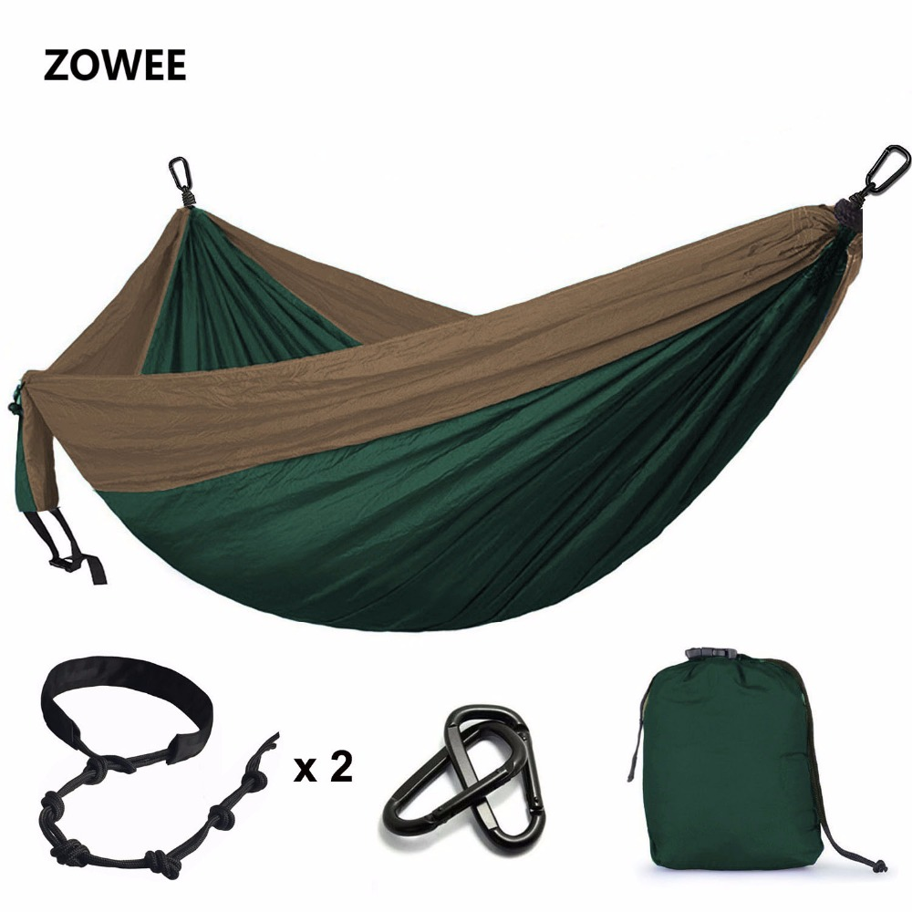 Double Person Big Hammock Parachute Portable Outdoor Camping Home Garden Sleeping Hammock Bed 550lb Max Loading Free Shipping wholesale portable nylon parachute double hammock garden outdoor camping travel survival hammock sleeping bed for 2 person