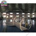 Beste kwaliteit 4 m dome outdoor transparante opblaasbare camping bubble tent te koop