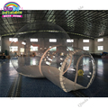 Beste qualität 4 m dome außen transparente aufblasbare camping blase zelt für verkauf