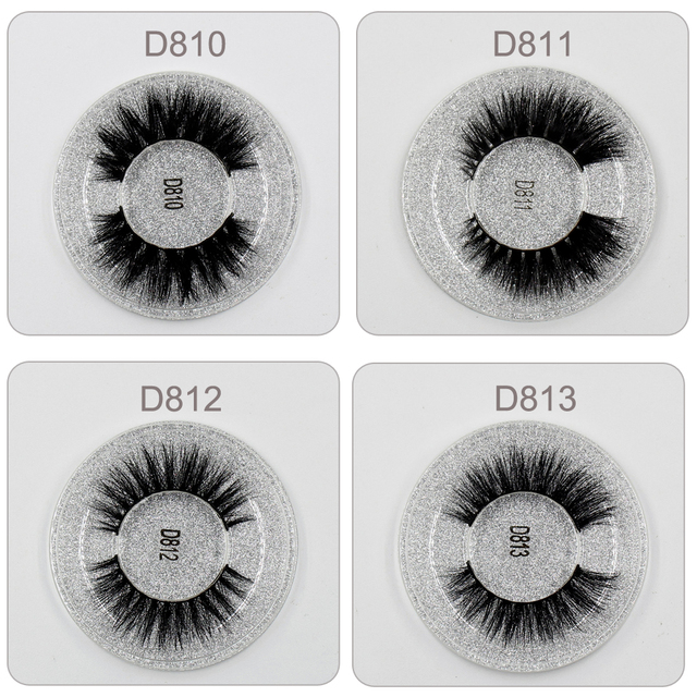 LEHUAMAO Mink Eyelashes 3D Mink Lashes Thick HandMade Full Strip Lashes Cruelty Free Mink Lashes 13 Style False Eyelashes Makeup 6