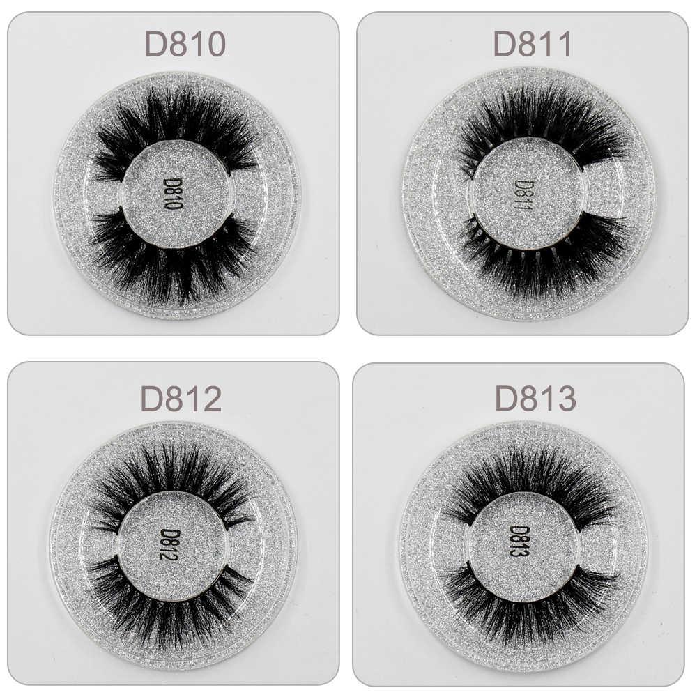 LEHUAMAO Ciglia di Visone 3D Ciglia di Visone di Spessore HandMade Completa Striscia Lashes Crudeltà Trasporto Ciglia di Visone 13 Stile Ciglia Finte Trucco