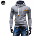 2017 Hoodies Men Sudaderas Hombre Hip Hop Mens Brand Slim Hooded Hoodie Sweatshirt   Suit Slim Fit Men Hoody XXL HF